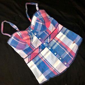 HOLLISTER bustier corset top